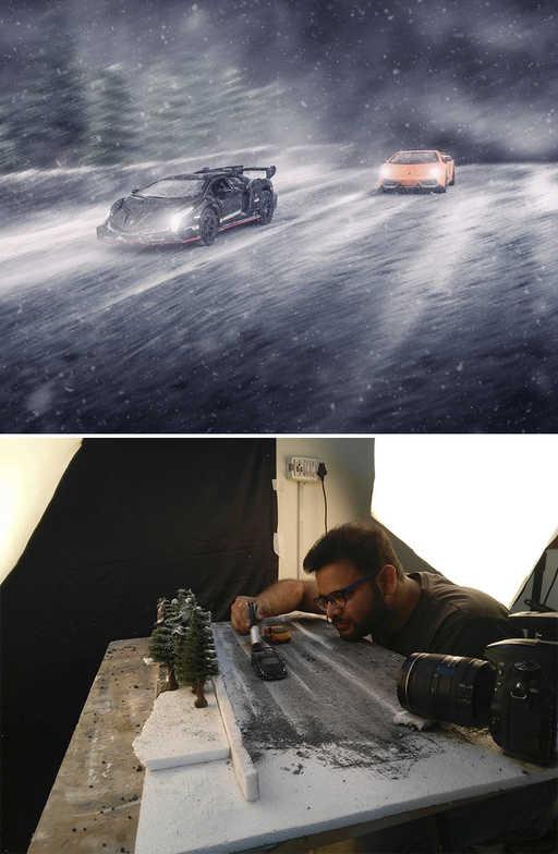 【捕鱼王】摄影师拍出最震撼的汽车广告 不出门也能拍汽车平面广告