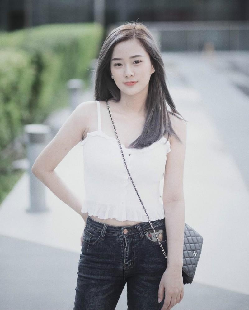 【捕鱼王】清新美女Nichakarn 泰妹拍写真秒变胸器妹