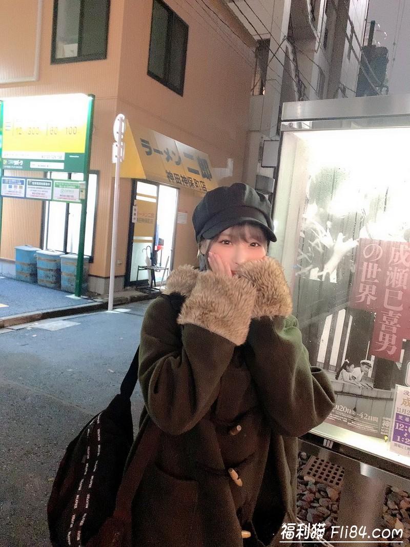 """【捕鱼王】吃货萝莉""""桃乃木かな""""一年间征服全日本拉面二郎 甜美""""事后照""""真的超呆萌!"""
