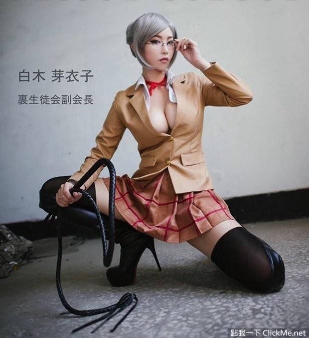【捕鱼王】重量级美乳《Sylvia》神还原cos监狱学园里副会长!