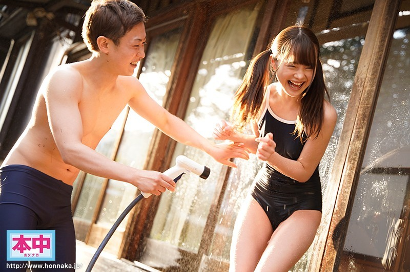 【捕鱼王】松本一香HND-862 表妹没穿内衣被雨淋湿嫩乳一览无遗