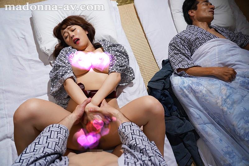 【捕鱼王】JUL-317 :温泉旅行不小心和巨乳岳母白石茉莉奈搞上!
