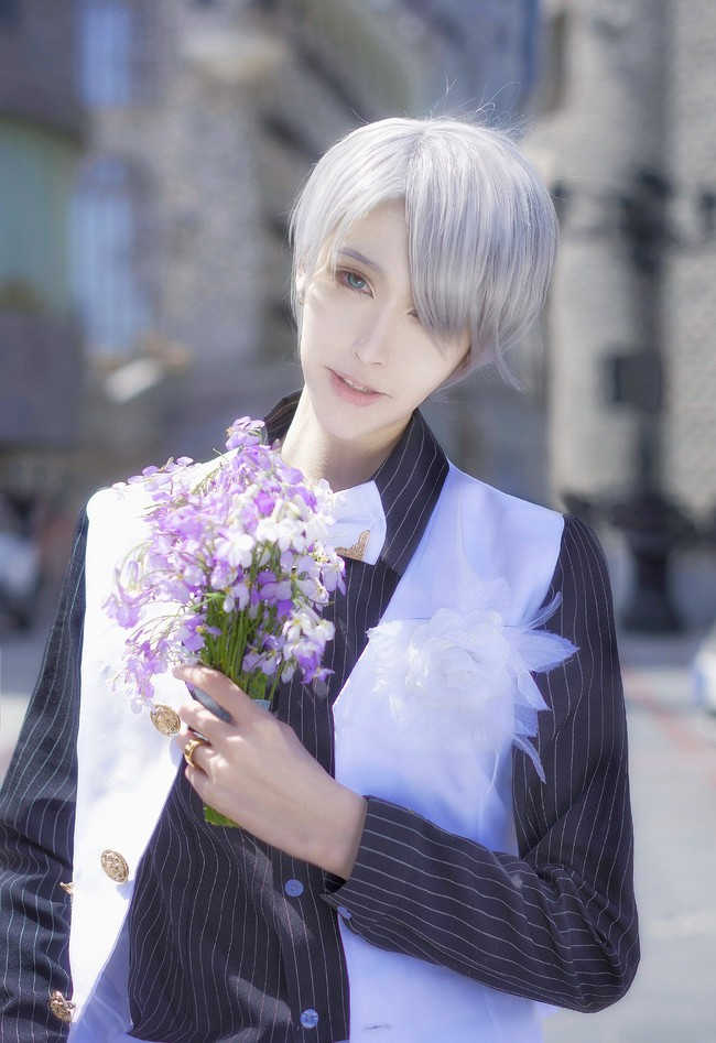 【捕鱼王】【cos正片】《冰上的尤里》今天你要嫁给我了♡维勇蜜月婚服.avr(误)cn:君子妖Cain