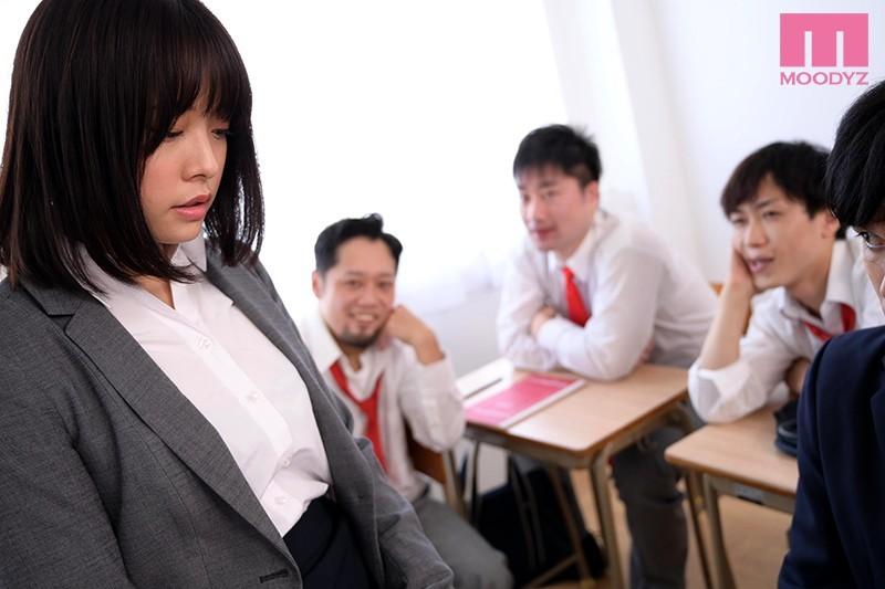 【捕鱼王】八木奈奈MIDE-876 年轻女老师被班上男人欺负