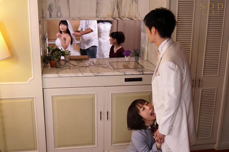 【捕鱼王】STARS-312:婚礼主持「戸田真琴」勾引新郎在休息室的厕所搞了起来!