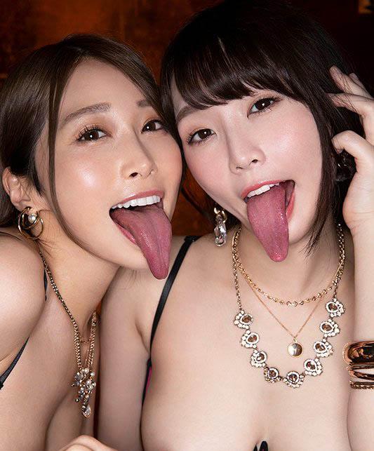 【捕鱼王】舌姬强强联手!佐伯由美香、野々宫みさと吸干男优!