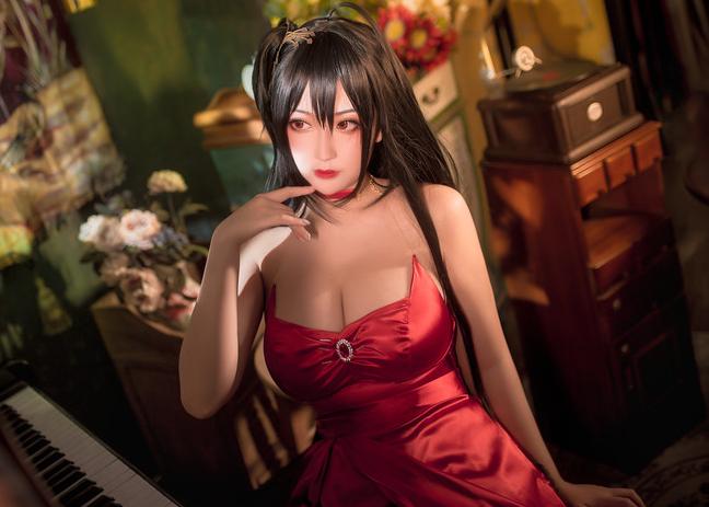 【捕鱼王】猫九酱cosplay图集 牺牲色相满足二次元控宅男