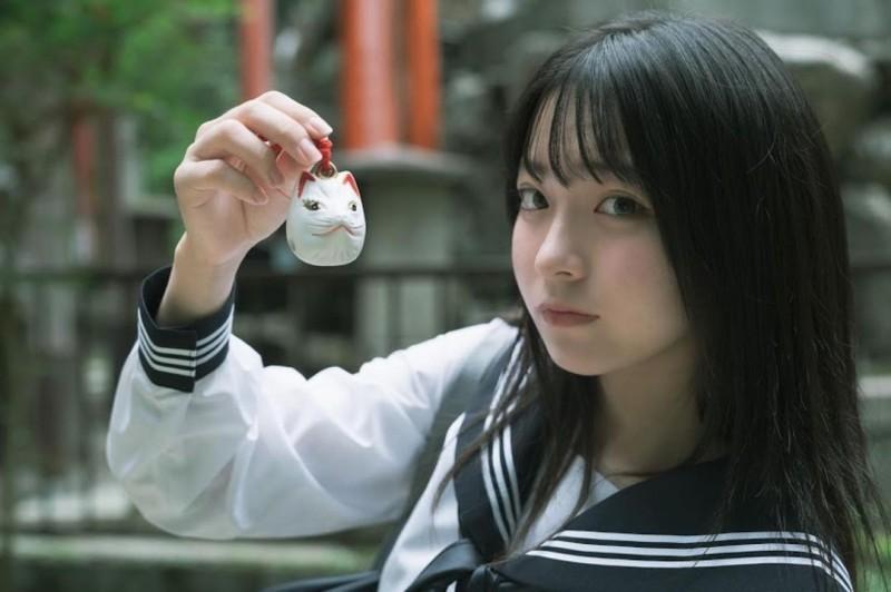【捕鱼王】17岁仙女高中生「瀬戸りつ」绝美长相激似IU 全身散发「空灵气质」美到有点不真实