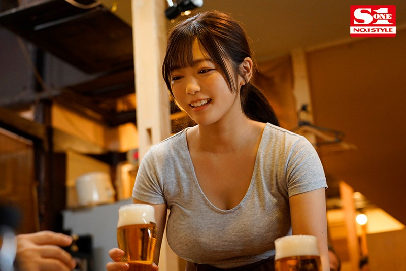 """【捕鱼王】SSIS-053 :没赶上电车!居酒屋的店花""""羽咲みはる""""酒后发浪吃店长肉棒!"""
