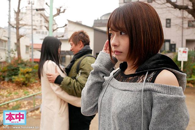 """【捕鱼王】HND-673 :文系痴女""""麻里梨夏""""用丰满的胴体诱惑纯情男,直接中出!"""