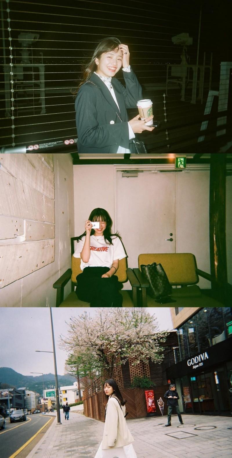 【捕鱼王】横田真悠 胶片日常合集 可爱的女孩纸 