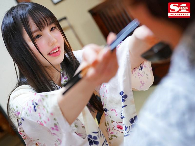 """【捕鱼王】SSIS-073 :F奶美少女""""山崎水爱""""温泉感谢祭,讨厌大叔也得乖乖脱光!"""