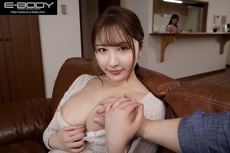 """【捕鱼王】EBOD-829:巨乳姐姐""""北野未奈""""低语淫语贴身奶诱惑妹妹的男友中出!"""