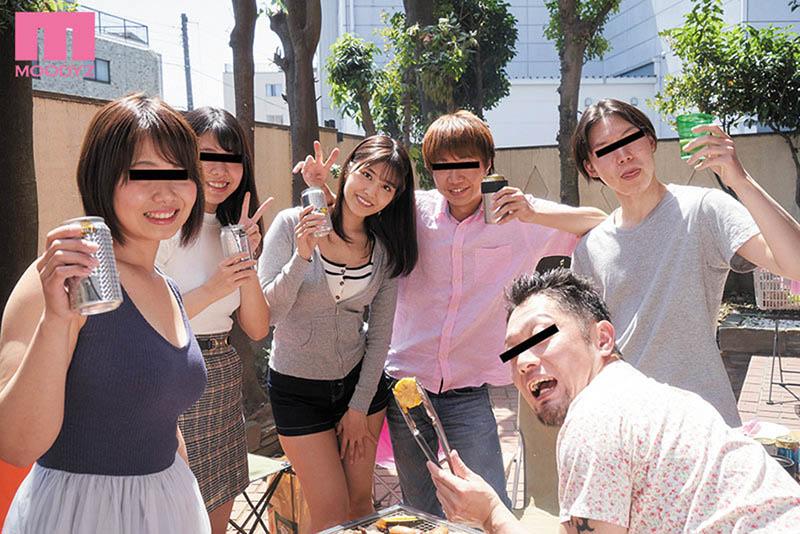 """【捕鱼王】性爱BBQ!""""神宫寺ナオ""""参加同学会烤肉遭变态轻浮男""""灌醉玩3P""""!"""